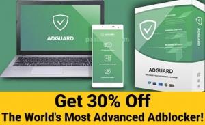 30% Off AdGuard Coupon – Premium Ad Blocker – All plans including LIFETIME discount! 👇